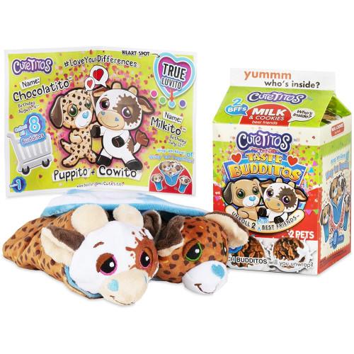 Cutetitos Taste Budditos - Milk & Cookies