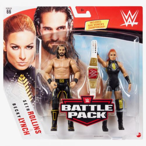 WWE Battle Pack - Series #66 - Seth Rollins & Becky Lynch