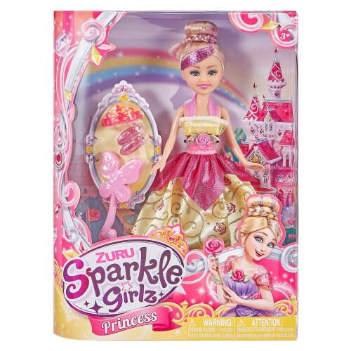 Sparkle Girlz Princess Doll - Yellow Dress