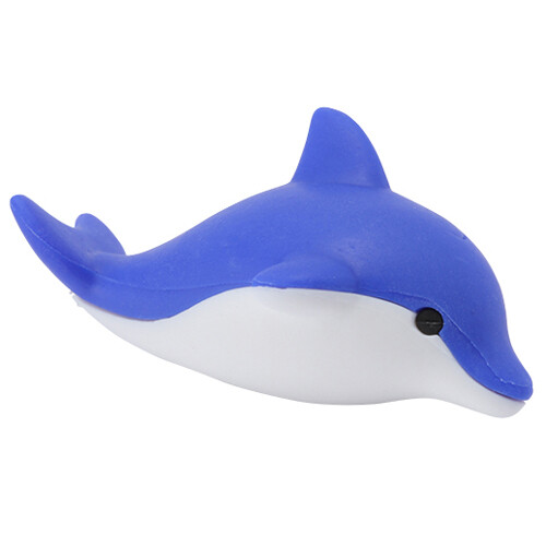 Iwako Puzzle Eraser - Sea Animals - Dolphin (Blue)