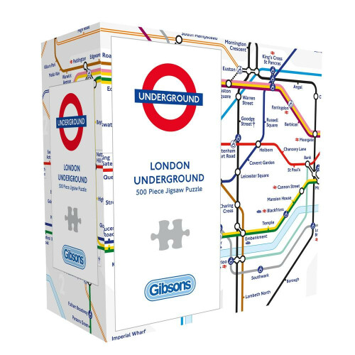 Gibsons London Underground 500pc Puzzle