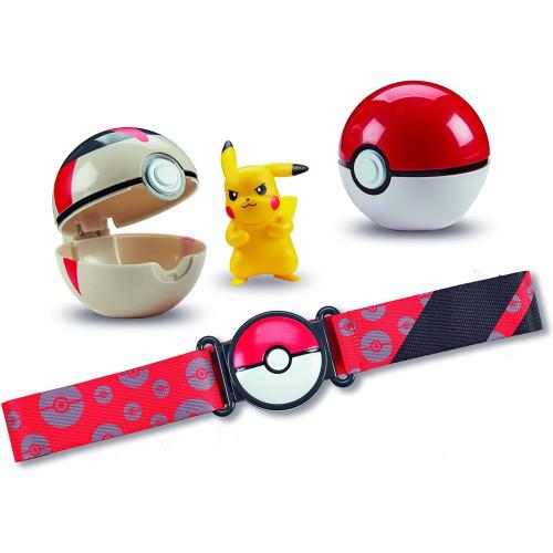 Pokemon Clip 'n' Go Poke Ball Belt Set - Pikachu