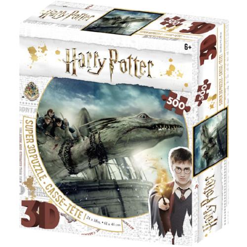 Harry Potter Super 3D Puzzle 500pc - Norbert