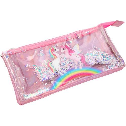 Depesche Ylvi & the Minimoomis Glitter Unicorn Pencil Case