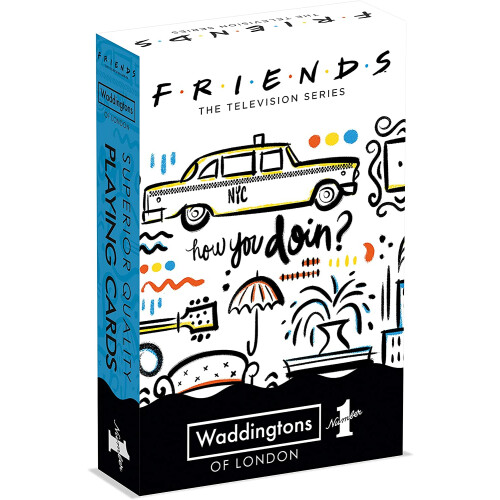Waddingtons Playing Cards - Friends
