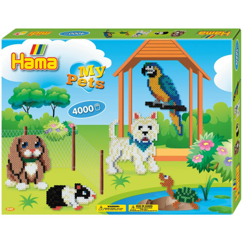 Hama Beads 3147 My Pets Gift Box