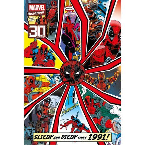 Maxi Posters - Deadpool (Shattered)
