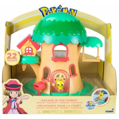 Pokemon Escape in the Forest Playset