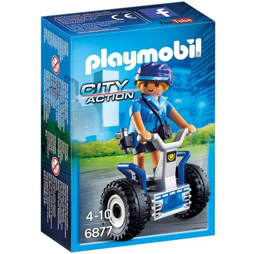 Playmobil City Action 6877 Policewoman with Balance Racer