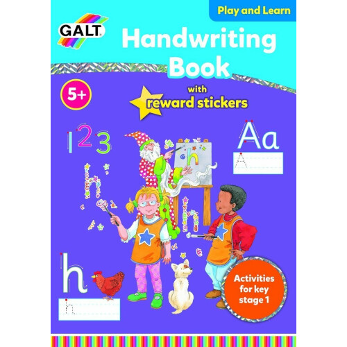 Galt Handwriting Book With Reward Stickers