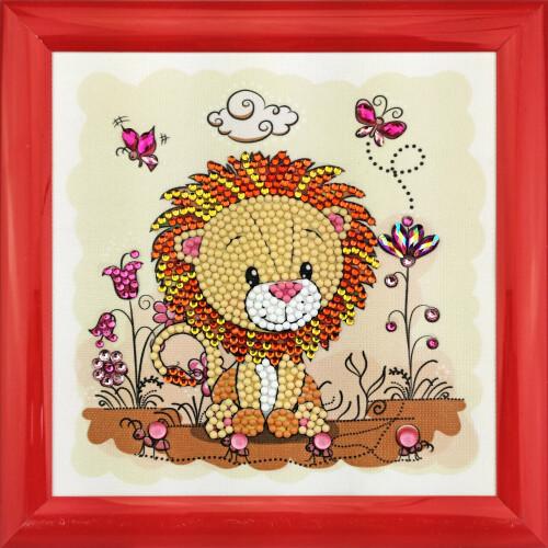 Crystal Art Frameables - Lion Meadow