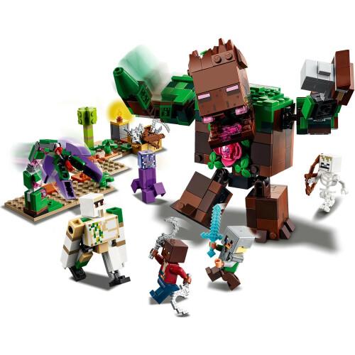 Lego 21176 Minecraft The Jungle Abomination