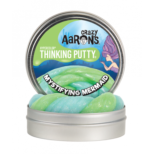 Crazy Aarons Thinking Putty Hypercolors - Mystifying Mermaid