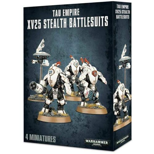 Warhammer 40,000 - T'au Empire XV25 Stealth Battlesuits