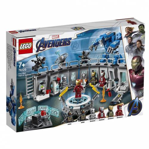 Lego 76125 Super Heroes Avengers Iron Man Hall of Armour