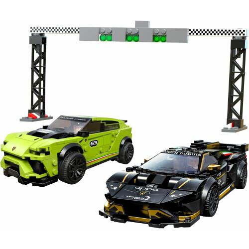 Lego 76899 Speed Champions Lamborghini Urus ST-X & Lamborghini Huracan Super Trofeo EVO