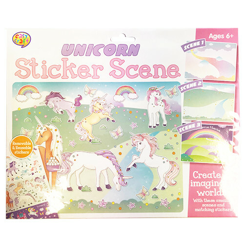 Kreative Kids - Unicorn Sticker Scene