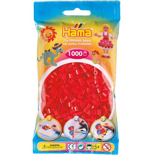 Hama Beads 207-05 Red