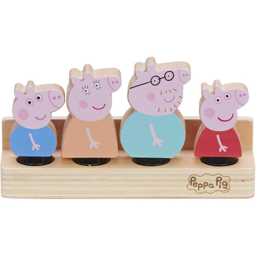 Peppa Pig Wooden Family Set