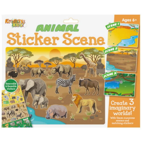Kreative Kids - Animal Sticker Scene