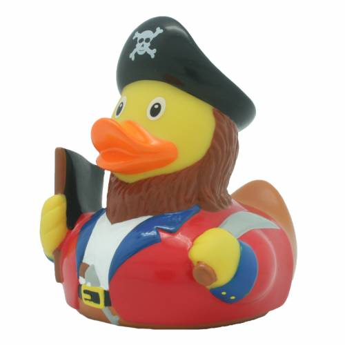 Lilalu Pirate Duck with Flag