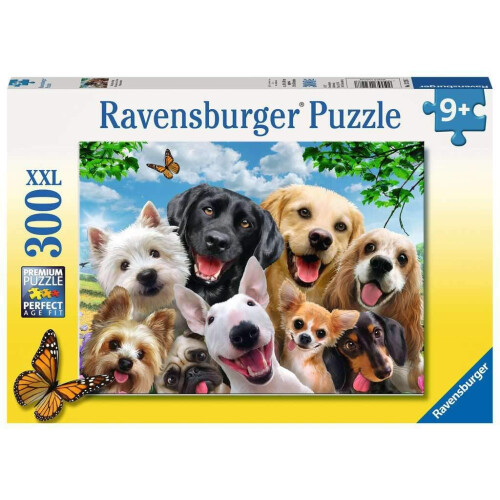 Ravensburger 300 XXL Piece Puzzle Delighted Dogs