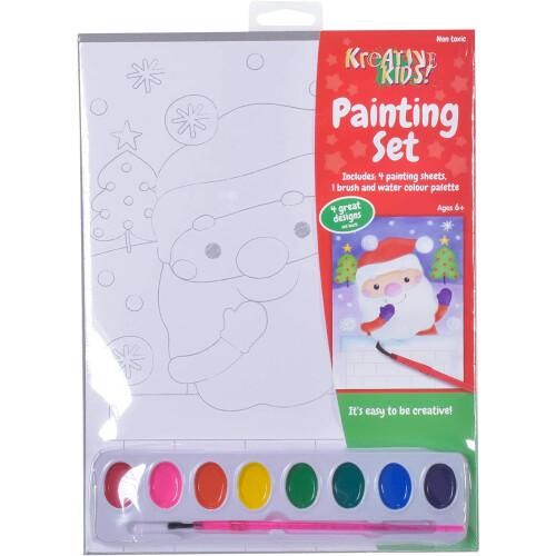 Kreative Kids Christmas Painting Set 1