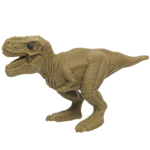Iwako Puzzle Eraser - Dinosaur - Tyrannosaurus (Green)