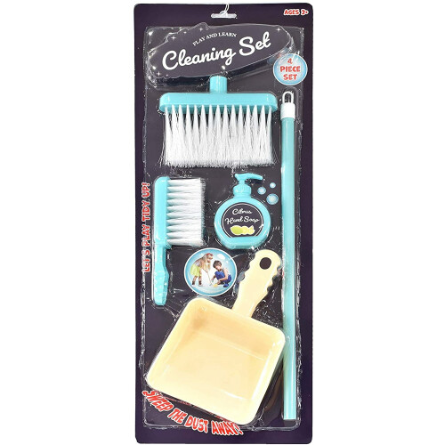 Play and Learn 4 Piece Cleaning Set