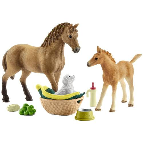 Schleich 42432 Horse Club Sarah's Baby Animal Care