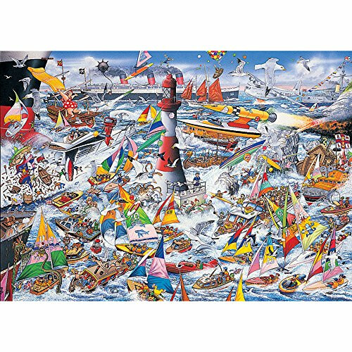 Gibsons I Love Boats 1000pc