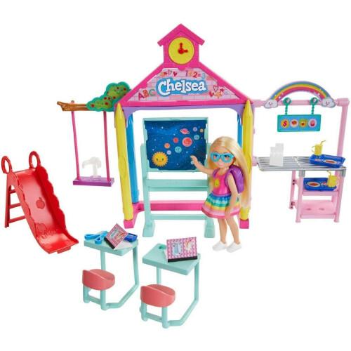 Barbie Club Chelsea School Playset