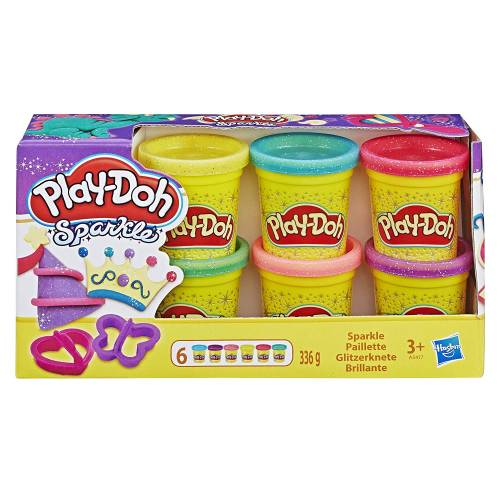 Play-Doh Sparkle Mini Tubs
