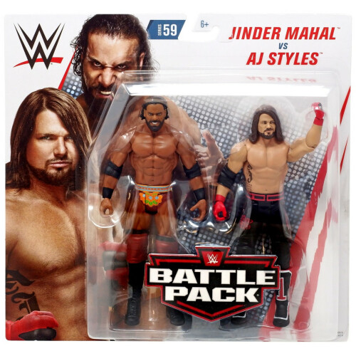 WWE Action Figure - Series 59 - Jinder Mahal Vs AJ Styles