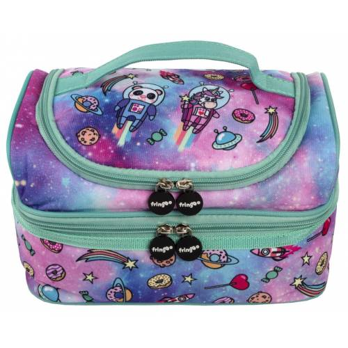 2 Part Lunch Bag - Space Fantasy