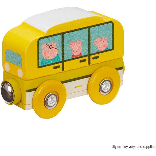 Peppa Pig Wooden Mini Bus