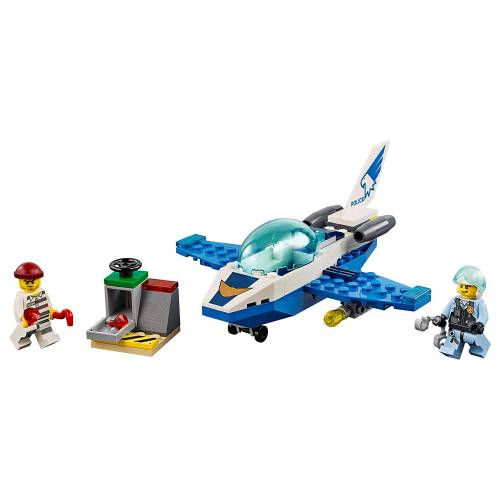 Lego 60206 City Sky Police Jet Patrol