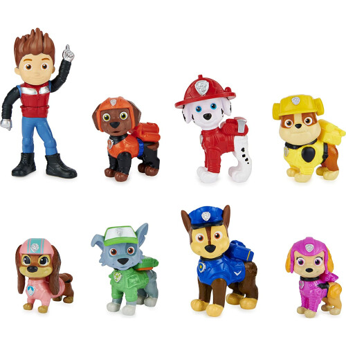 Paw Patrol: The Movie Liberty Joins the Team 8 Figure Movie Gift Pack