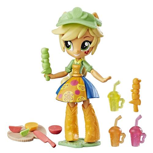 My Little Pony Equestria Girls Applejack Fruit Smoothies Shop