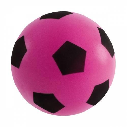 Sponge / Foam Football 17.5cm Approx size 4 - Pink