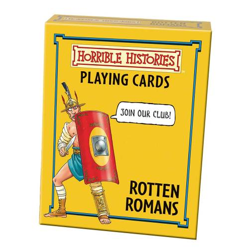 Horrible Histories Playing Cards - Rotten Romans