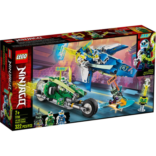 Lego 71709 Ninjago Jay and Lloyd's Velocity Racers