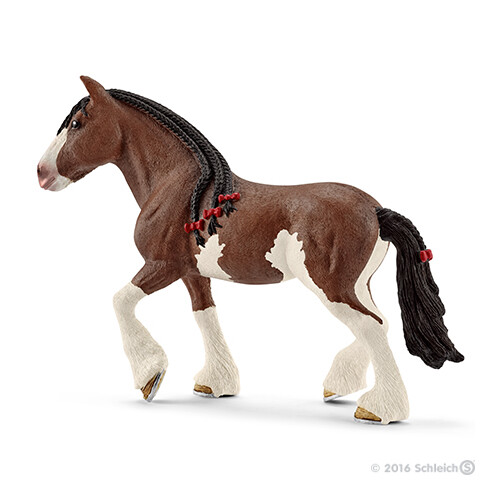 Schleich Farm Life 13809 Clydesdale mare