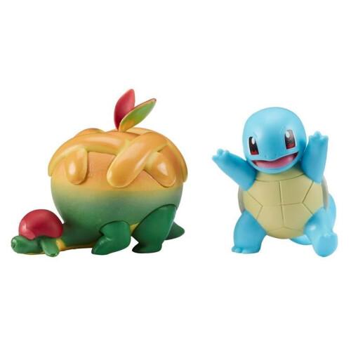 Pokemon Battle Figure Pack - Squirtle Appletun