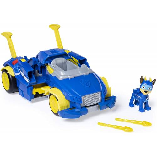 Paw Patrol Mighty Pups Super Paws - Chase's Powered Up Cruiser