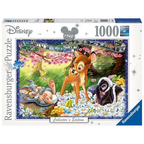 Ravensburger 1000pc Disney Collector's Edition Bambi Pieces Jigsaw Puzzle