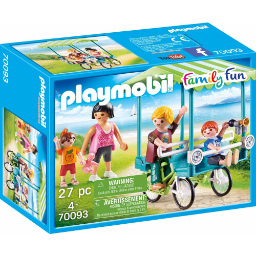 Playmobil 70093 Family Fun Family Bicycle