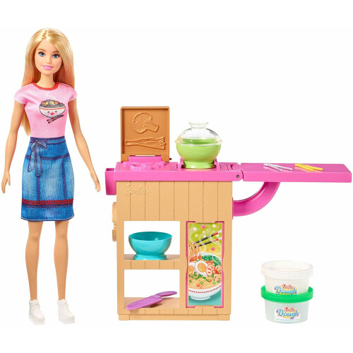 Barbie Noodles Maker Doll and Playset