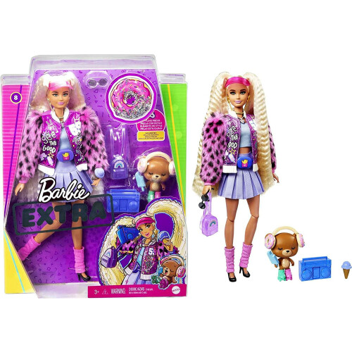 Barbie Extra Doll & Pet 8