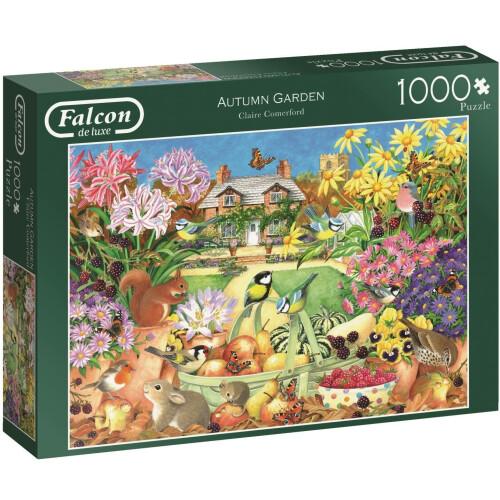 Falcon de luxe Autumn Garden 1000pc Jigsaw Puzzle